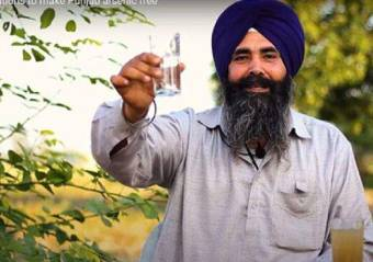 Clean arsenic drinking water