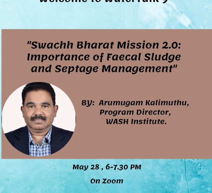 Invitation WaterTalk 9